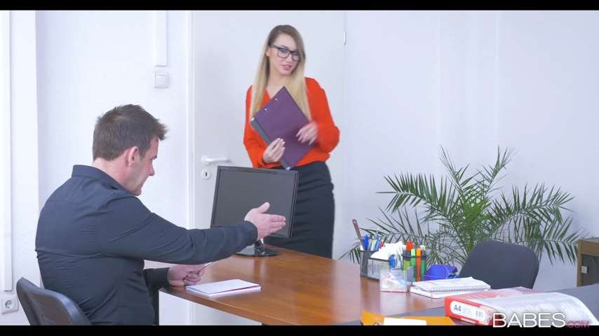 Katrin Tequila - She Gets The Job (Milf / Hardcore) [SD] - Babes.com