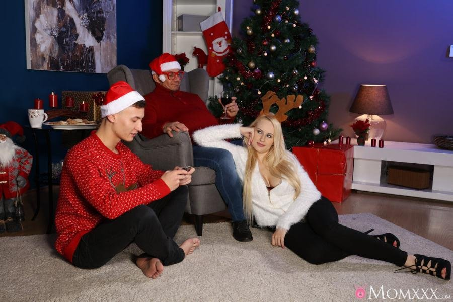 Angel Wicky - Mom Fucks Her Stepson as Dad Sleeps (Creampie / Big Tits) [SD] - SexyHub.com