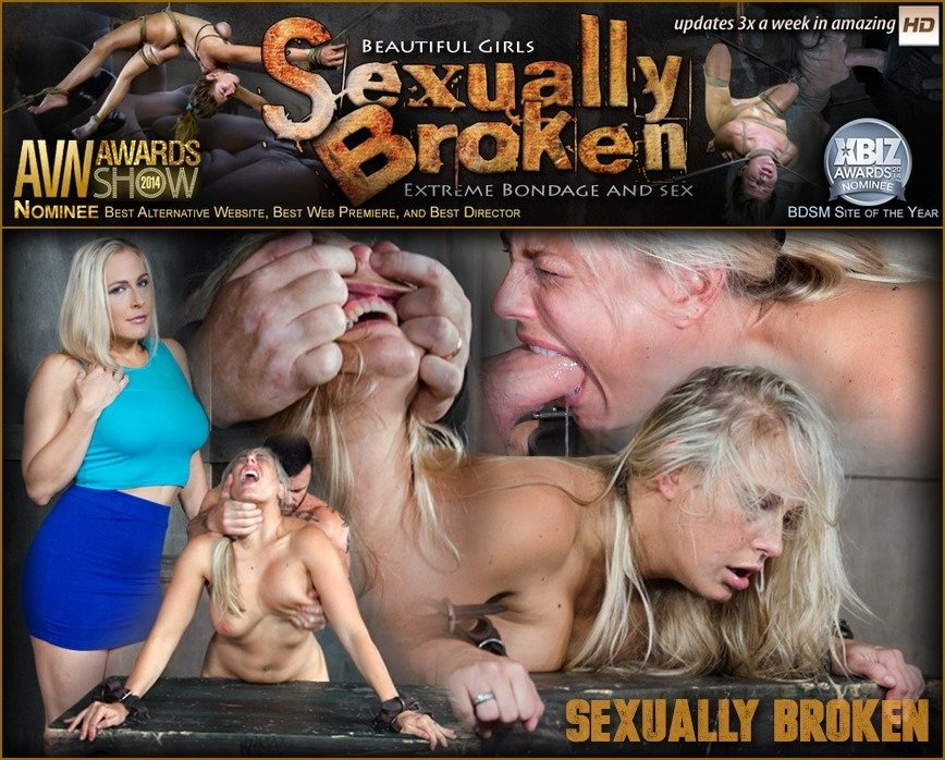 Angel Allwood - Angel Allwood Bent Over and Roughly Fucked In Belt Bondage! (BDSM / Domination) [SD 540p] - SexuallyBroken.com