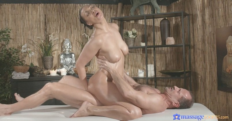 Eva and Georg - The Russian (MILF / Hardcore) [FullHD 1080p] - MassageRooms.com