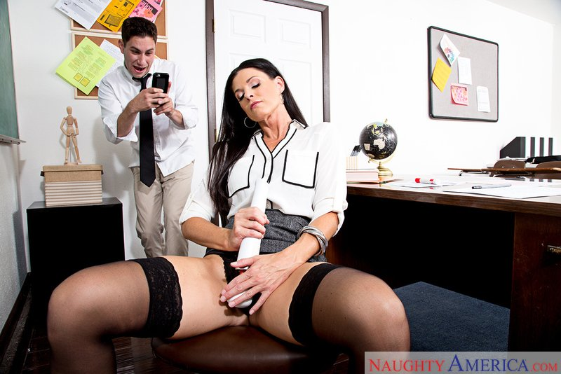 India Summer - 22161 (Mature / Natural Tits) [SD] - MyFirstSexTeacher.com
