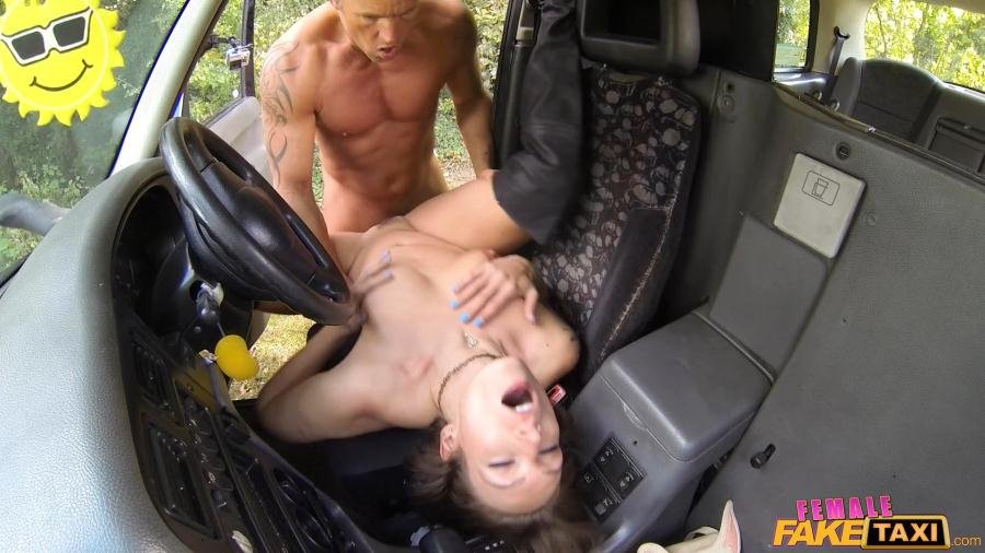Ava Austen - Lucky Guy Fucks Hot Chick on Bonnet (Milf / All Sex) [SD] - FemaleFakeTaxi.com