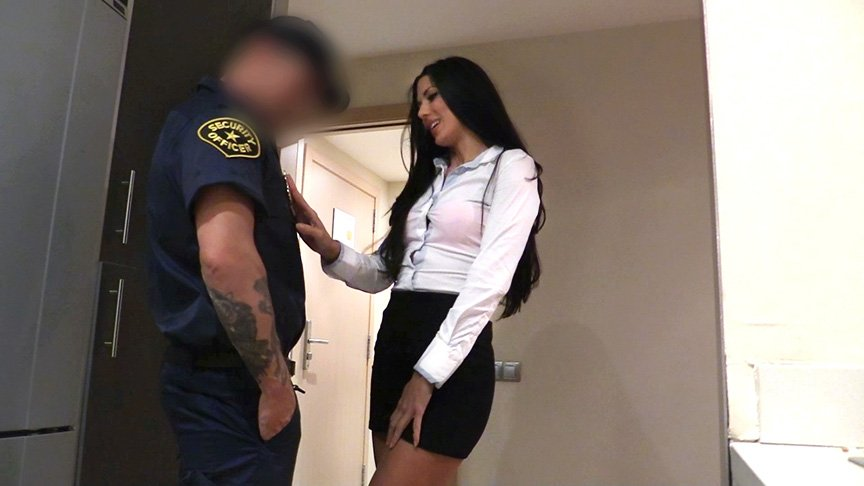 Alexa Tomas - Female Wanna Be Cop Having Hot Sex (Milf / Brunette) [SD] - FakeCop.com