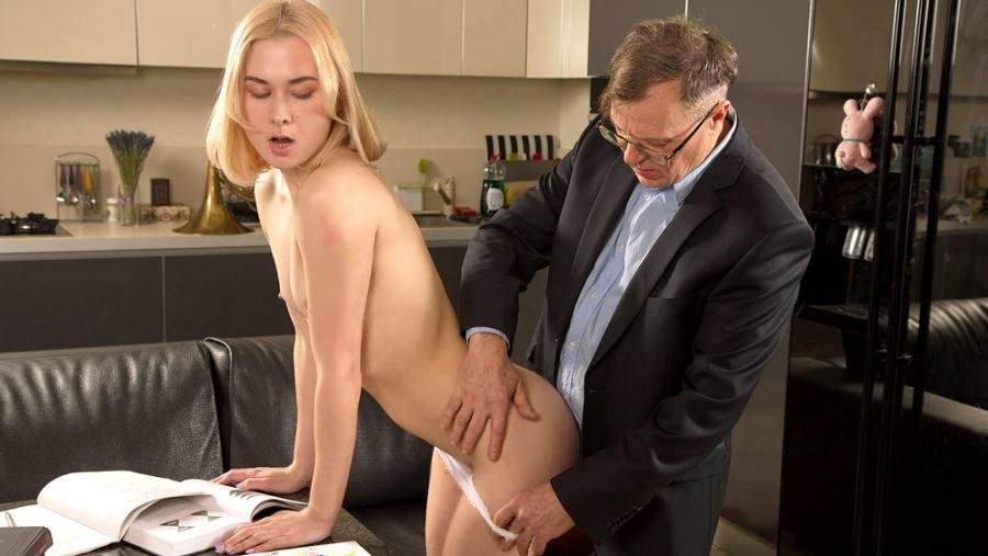 Via Lasciva - Old teacher treats her sexy student properly (Anal / Old and Young) [SD] - TrickyOldTeacher.com