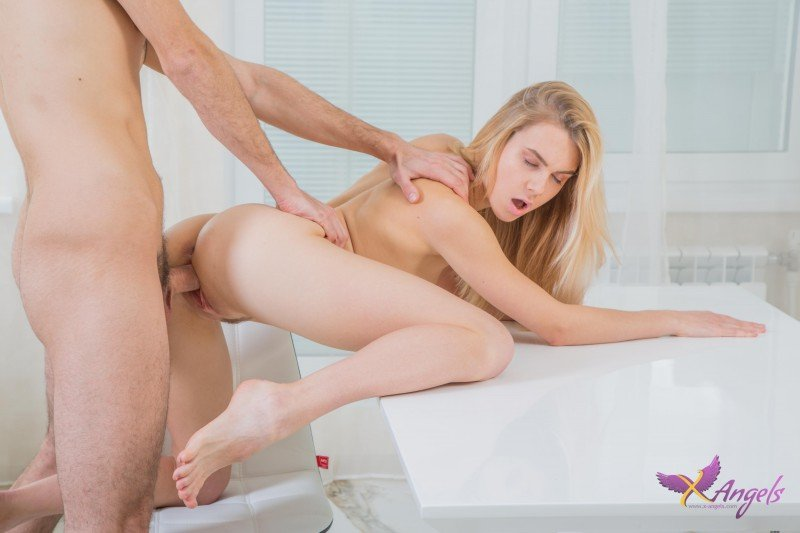 Alecia Fox - All Sex Desires Come True (Teen / Blonde) [HD 720p] - X-Angels.com