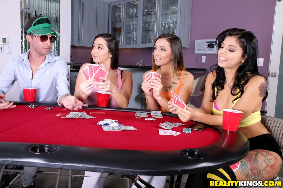 Gina Valentina, Karlee Grey, Jaye Summers - Taking All Bets (Threesome / Squirting) [SD] - RealityKings.com