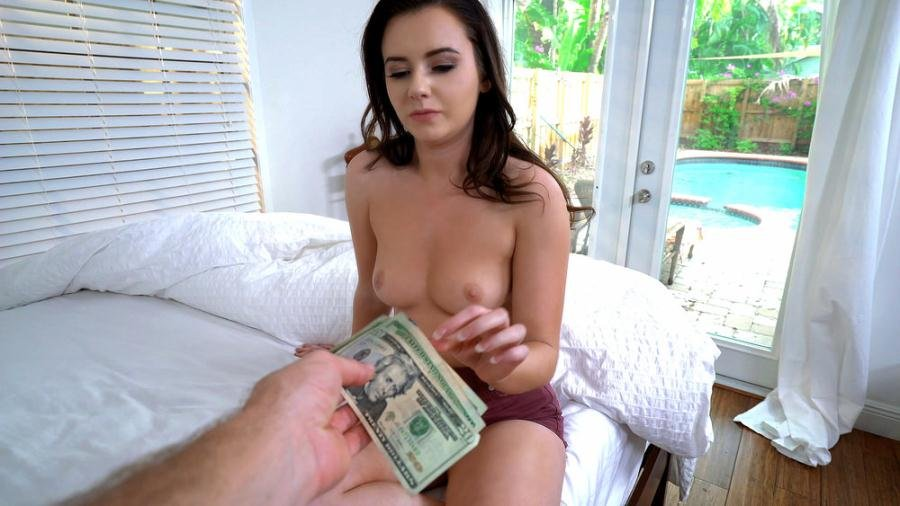 Karlie Brooks - Shy Brunette Flashes Pussy (POV / Doggystyle) [SD] - Mofos.com
