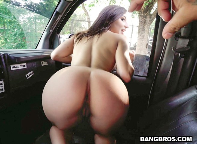Abella Dange - Abella Danger on The Bus (Big Ass / Latina) [SD] - BangBus.com