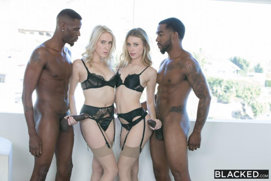 Cadence Lux, Anya Olsen - How I Got a Million Followers (IR / Group) [SD] - Blacked.com