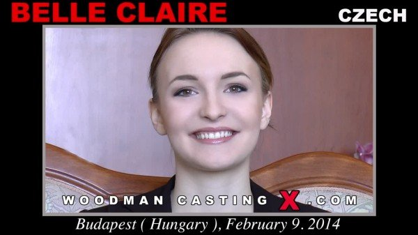 Belle Claire - Casting X 126 Updated (DP / Anal) [SD] - WoodmanCastingX.com