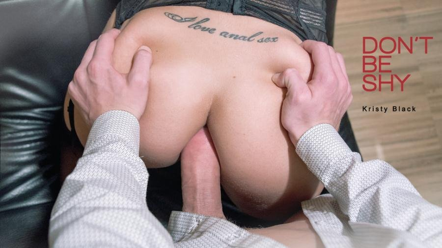 Kristy Black - Don't Be Shy (Anal / All Sex) [SD] - ElegantAnal.com