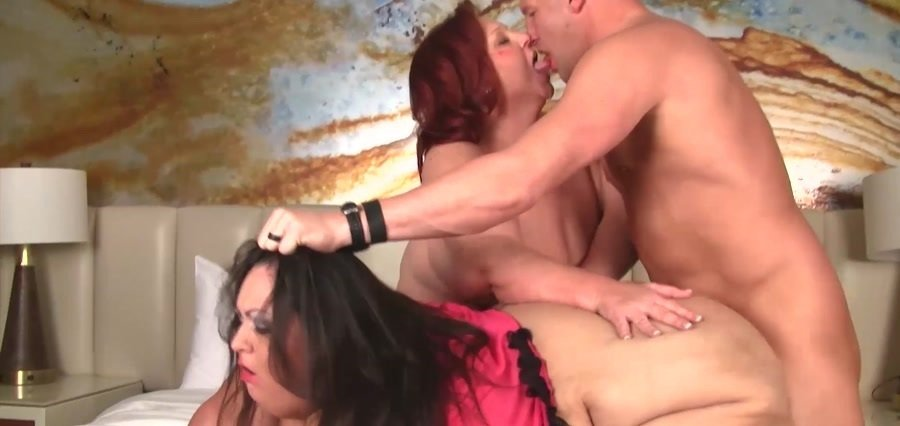 Apple Bomb - Inviting Apple Bomb into a SSBBW threesome (BBW / Big Tits) [FullHD 1080p] - Pure-BBW.com