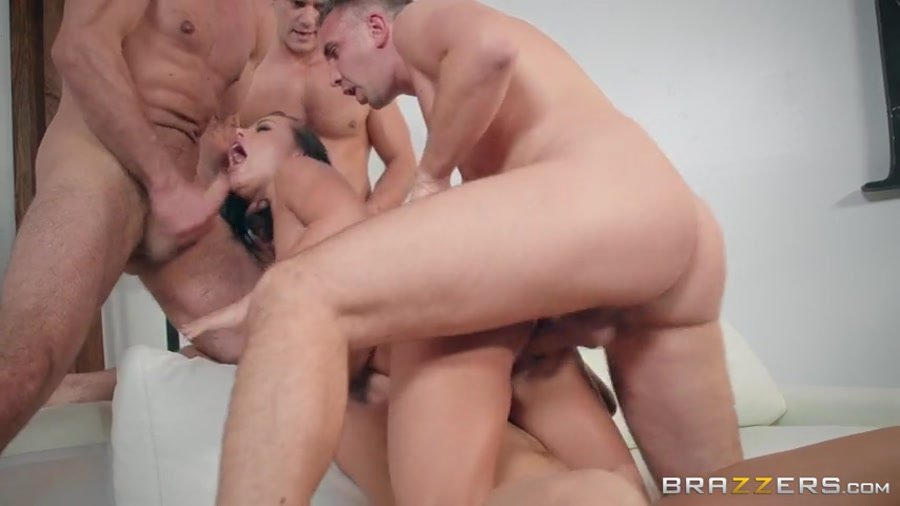 Adriana Chechik - The Dinner Party (Milf / Gang Bang) [SD] - Brazzers.com