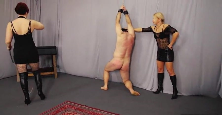 Lady Zita Lady Maggie - Suffer And Cry (BDSM / FemDom) [SD] - CruelPunishments.com