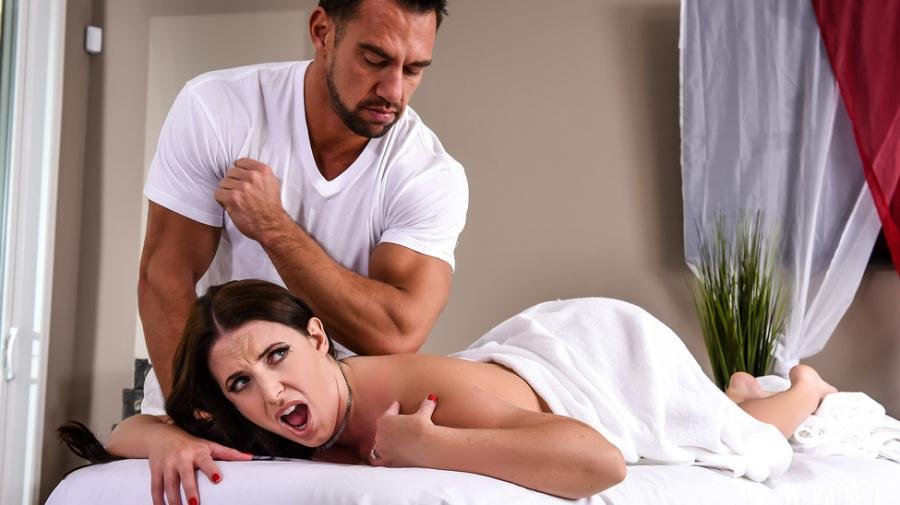 Angela White - The Wrong Massage Feels So Right (Brunette / Work Fantasies) [SD] - DirtyMasseur.com