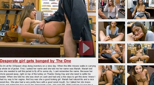 Mariah - Desperate Girl Gets Banged By The One (Latina / Hardcore) [SD] - XXXPawn.com