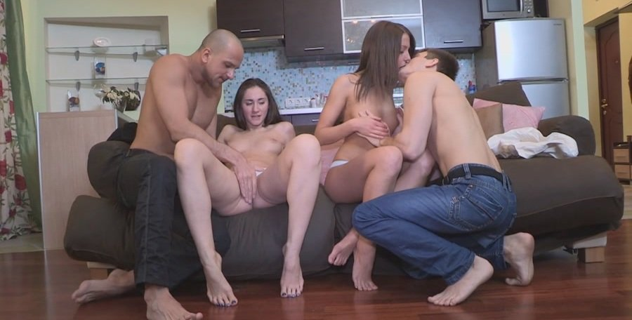 Russian Girls - Teens Surprise With a Sex Party (Group / Amateur) [FullHD 1080p] - YoungSexParties.com