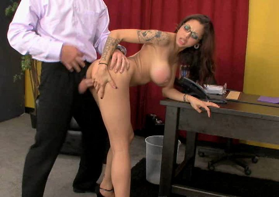 Adrenalynn - Naughty Office (Big Tits / Hardcore) [SD] - Richardson