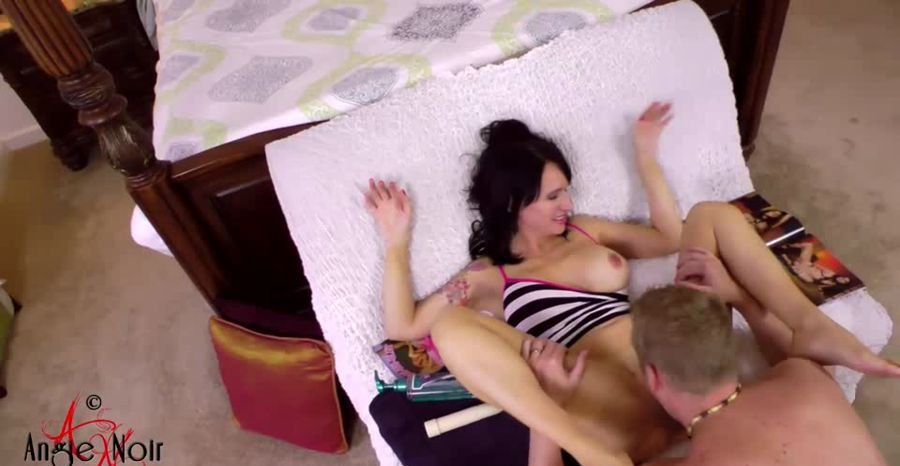 Angie Noire - Mother And Son's More Than Taboo... (Incest / USA) [SD 720p] - Clips4sale.com