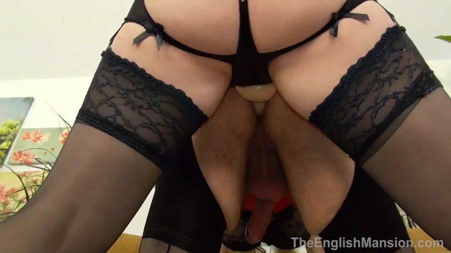 Eve Harper - Husband To Slut Enchantment (Femdom / Strapon) [HD 720p] - TheEnglishMansion.com