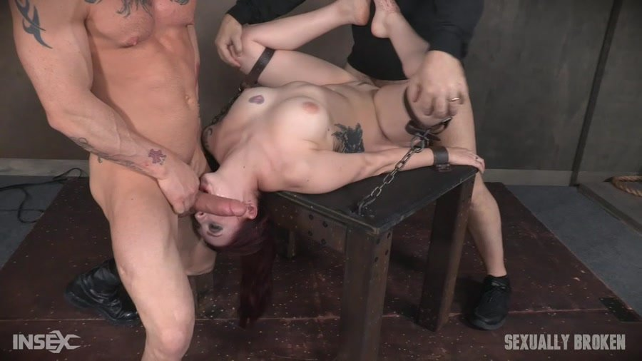 Amber Ivy - Part 1 / Amber Ivy April 12, 2017 (BDSM / Rough Sex) [HD 720p] - SexuallyBroken.com