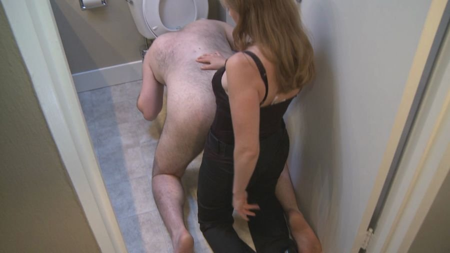 Mistress T - Toilet Cleaner (Femdom / Rough Sex) [HD 720p] - Mistresst.net