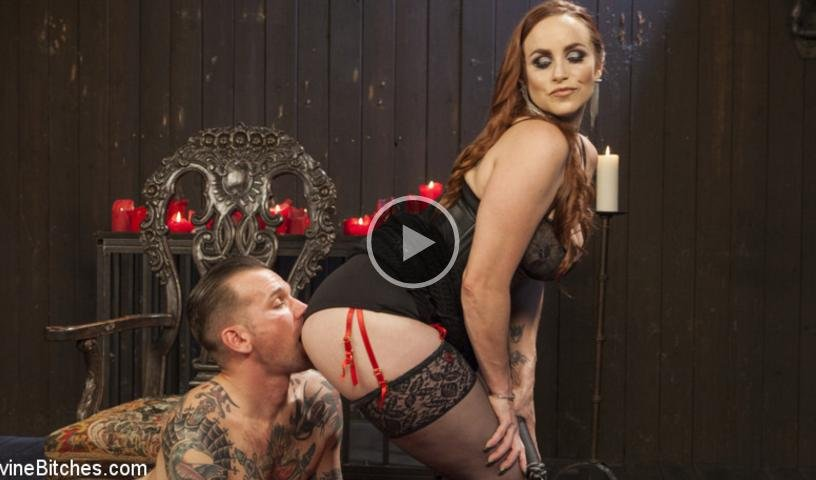 Bella Rossi And Will Havoc - The Perfect Slave For Perfect Service (Femdom / Rough Sex) [SD] - DivineBitches.com