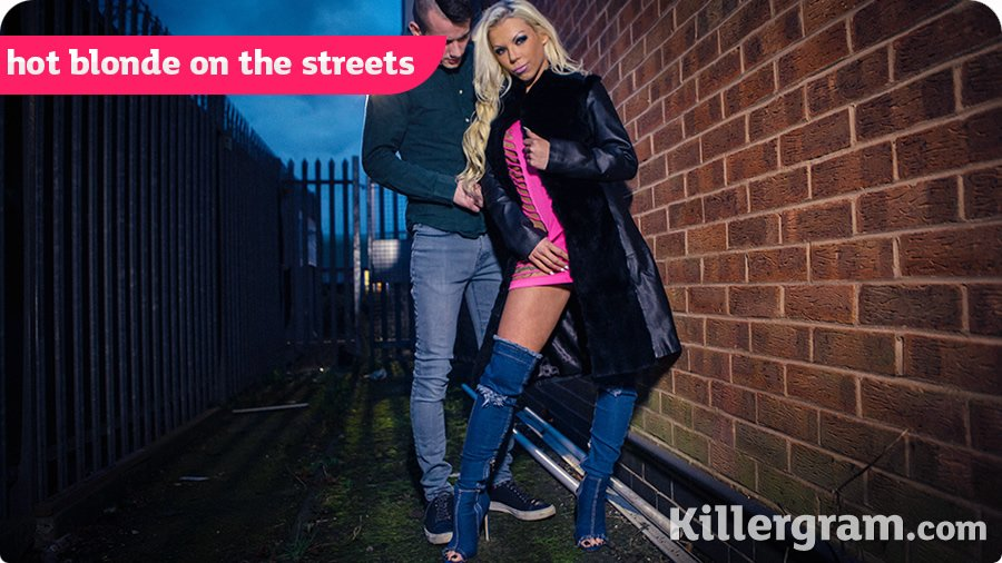 Barbie Sins - Hot Blonde On The Streets (Big Tits / Blonde) [HD 720p] - UkStreetWalkers.com