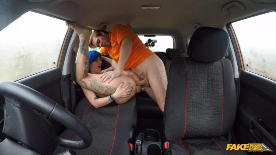 Alexxa Vice - Anal Sex for Blue Haired Learner (Anal / All sex) [FullHD 1080p] - FakeDrivingSchool.com