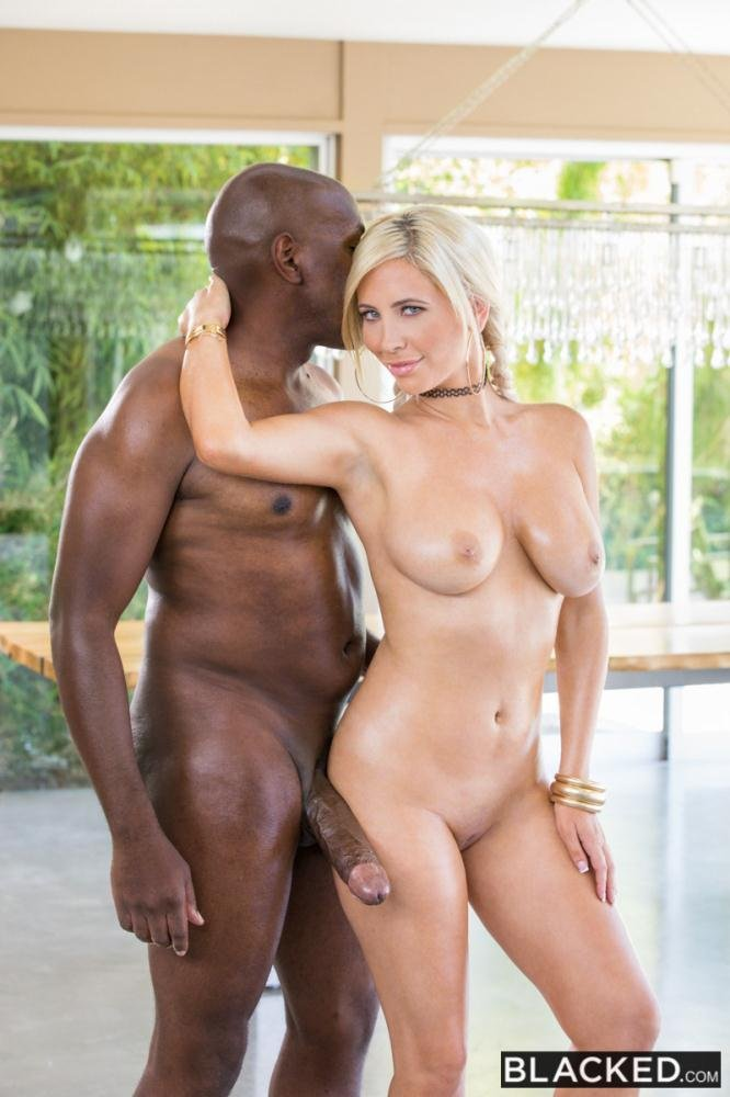 Tasha Reign - The Full Mr M Experience (Blonde / Interracial) [SD] - Blacked.com