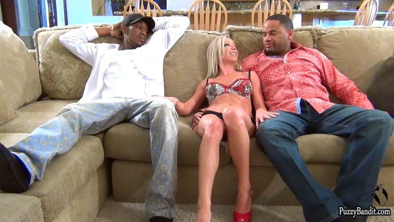 Mandy Monroe - 2 BBC is Always more Fun 1080p (Interracial / MILF) [HD 720p] - PussyBandit.com