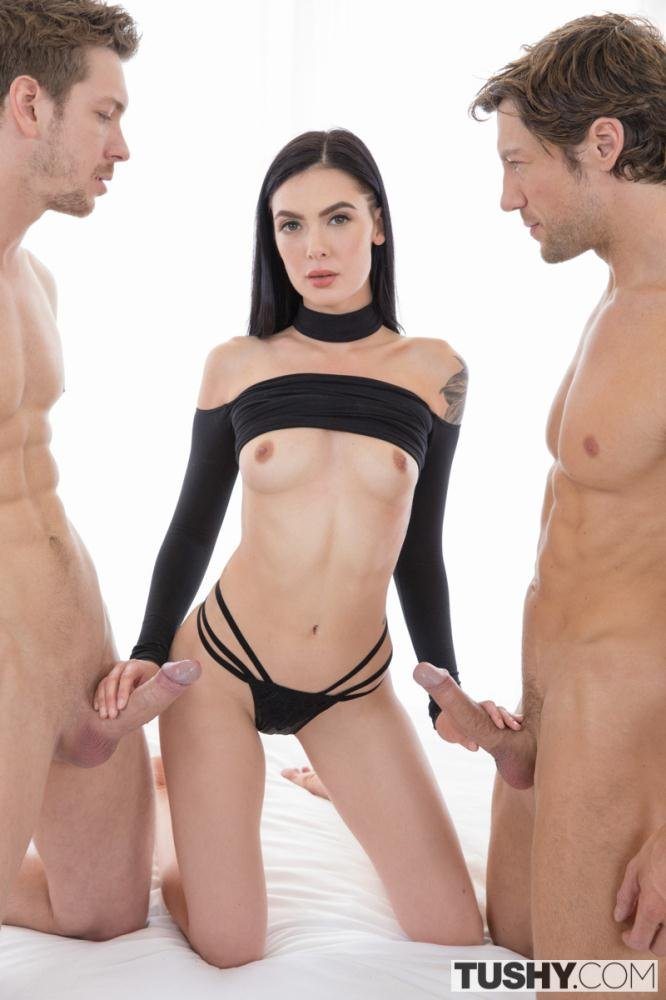 Marley Brinx - After The Shoot (Anal / Threesome) [SD] - Tushy.com