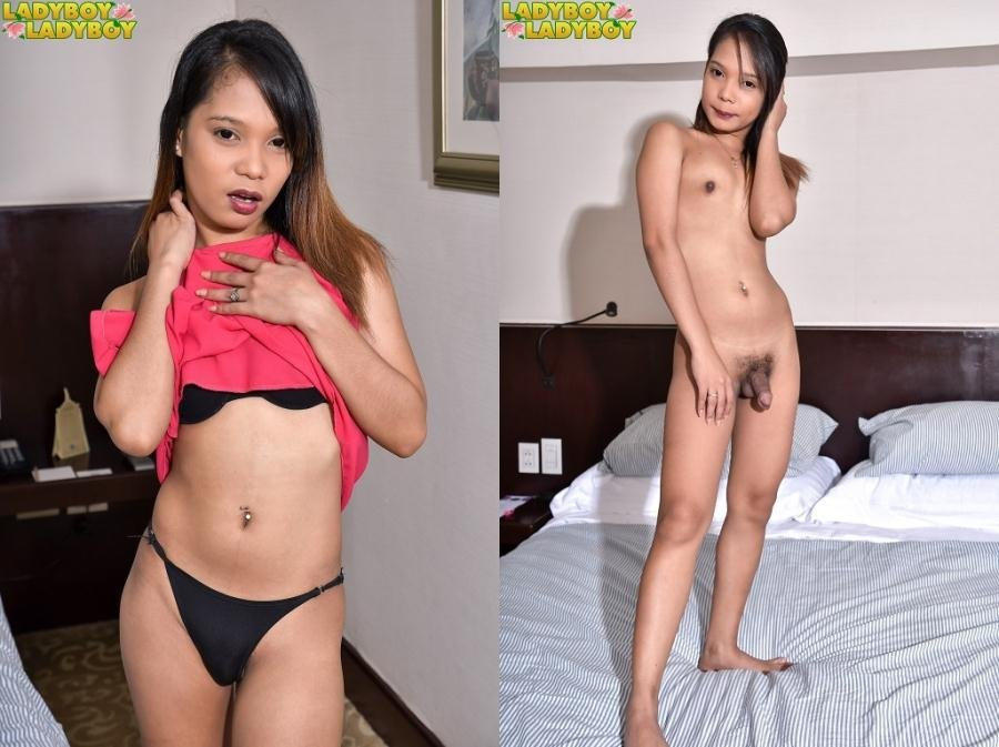 Bercel - Naughty Bercel Is Back (Shemale / Solo) [HD 720p] - LadyBoy-LadyBoy.com