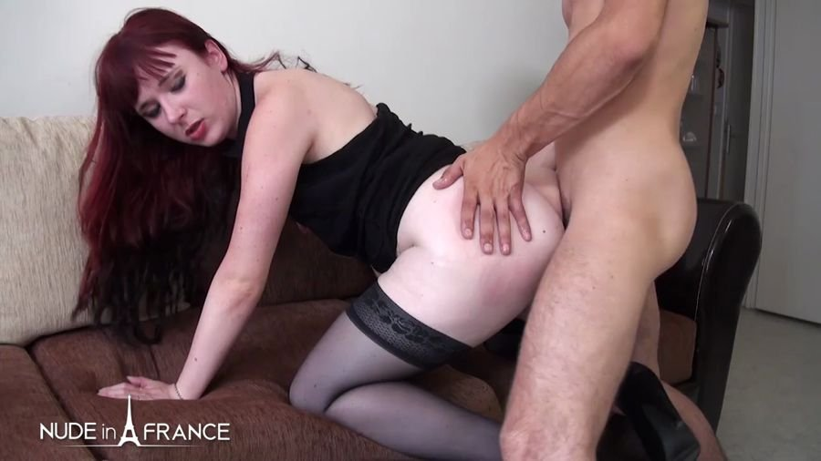 Dixie - Naughty Unfaithful Young Redhead Whore Giving Her (Amateur / France) [HD 720p] - NudeInFrance.com