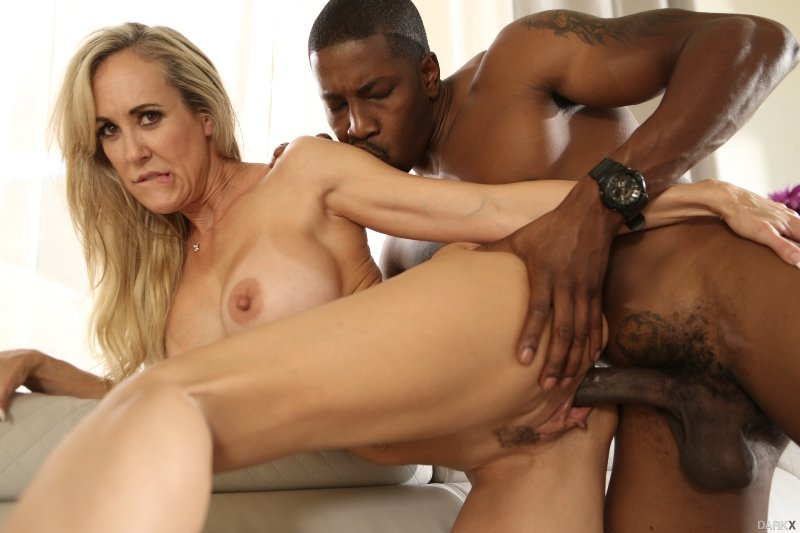 Brandi Love - My Noisy Neighbor (Interracial /MILF) [SD] - DarkX.com