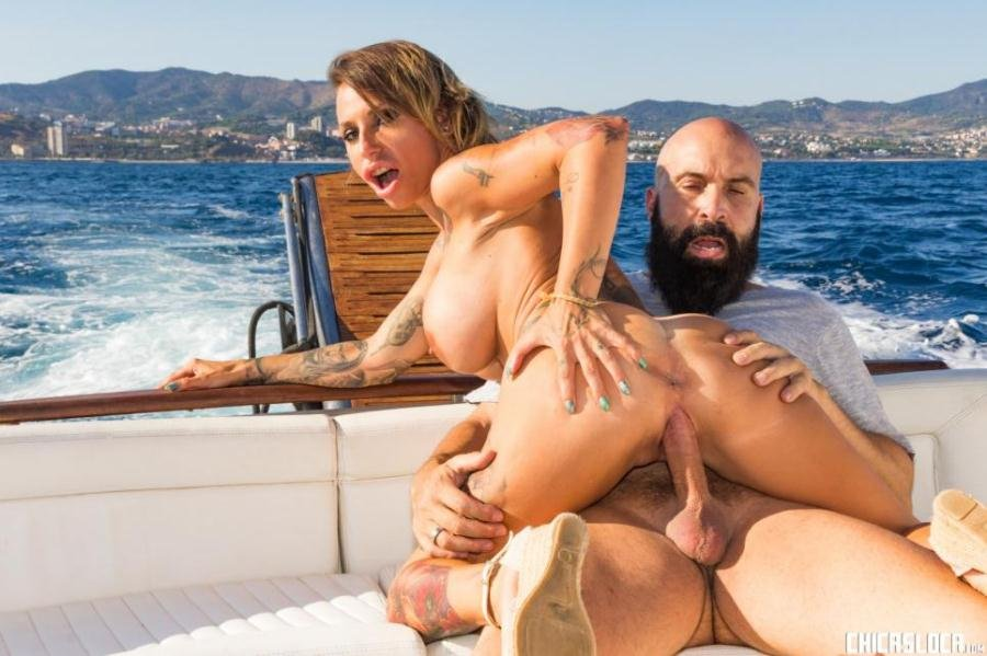 Gina Snake - Busty Spanish MILF Gina Snake gets fucked on a boat by Max Cortes (Big Tits / MILF) [SD] - ChicasLoca.com