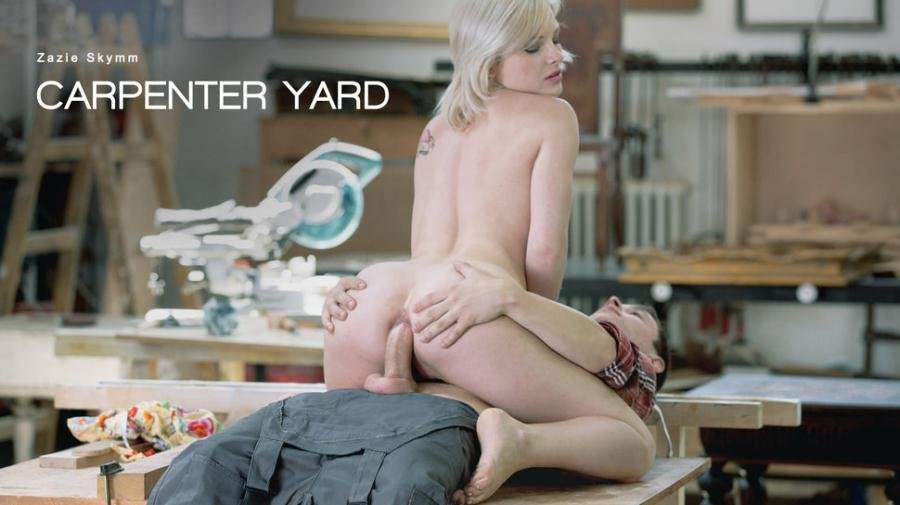 Zazie Skymm - Carpenter Yard (Anal / All Sex) [SD] - ElegantAnal.com