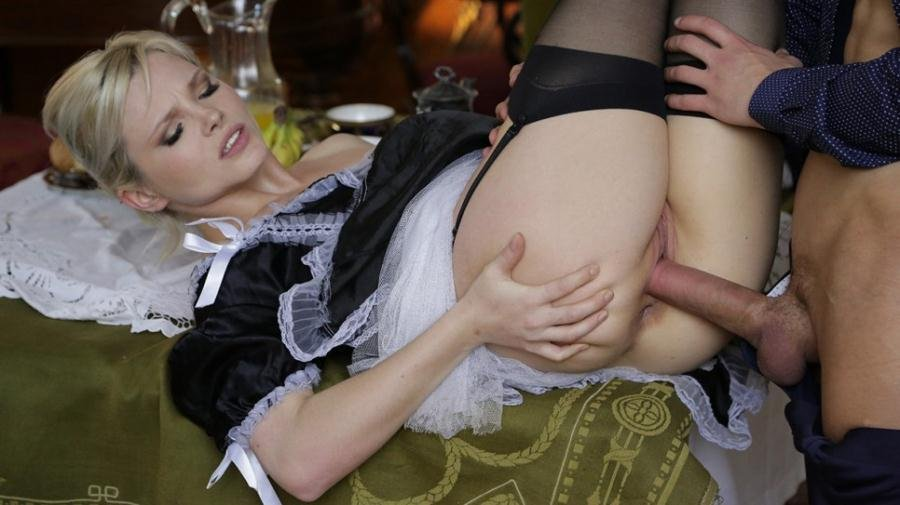 Zazie Skymm - Zazie Skymm, obedient maid (All Sex / Blonde) [SD] - DorcelClub.com