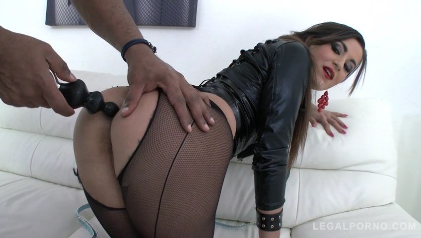 Cindy Loarn - Cindy Loarn in rough 4on1 with double anal SZ1273 (Fisting / Anal) [SD] - LegalPorno.com