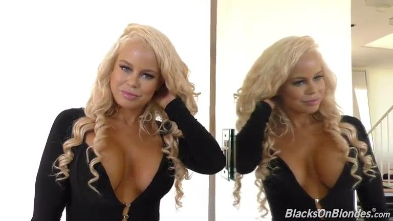 Nikki Delano - BTS (Interview / Blonde) [SD] - BlacksOnBlondes.com