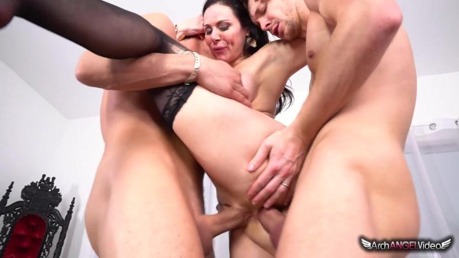 Kendra Lust - Kendra's First Ever DP (Gonzo / Anal) [SD] - ArchAngelVideo.com