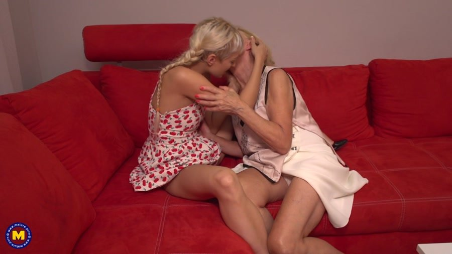 Eleanor (69), Natasja (26) - 2 Old And Young Lesbians Playing With Eachother (MILF, Mature, lesbians) [FullHD 1080p] - Mature.eu