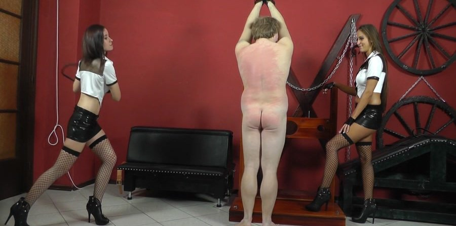 Mistress Anette - Naked boy's mocking (Femdom / Domination) [FullHD 1080p] - Cruel-Mistresses.com