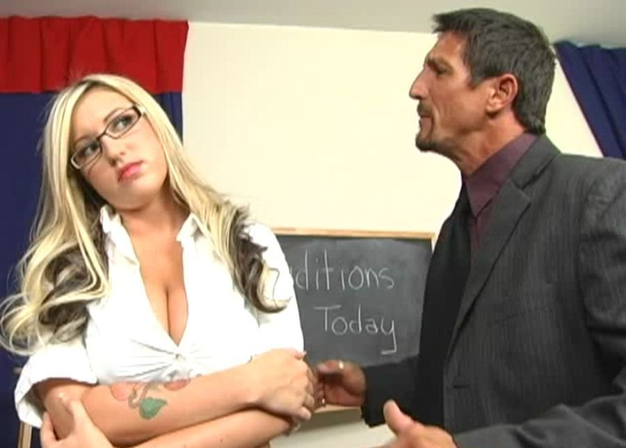 Memphis Monroe - School Auditions (Big Tits / Blonde) [SD] - BigBoobs