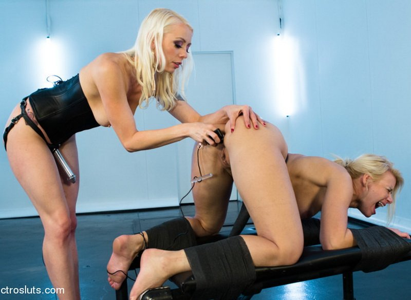 Lorelei Lee, Anikka Albrite - Shockingly Painful Electro Fucking! [HD] - ElectroSluts.com