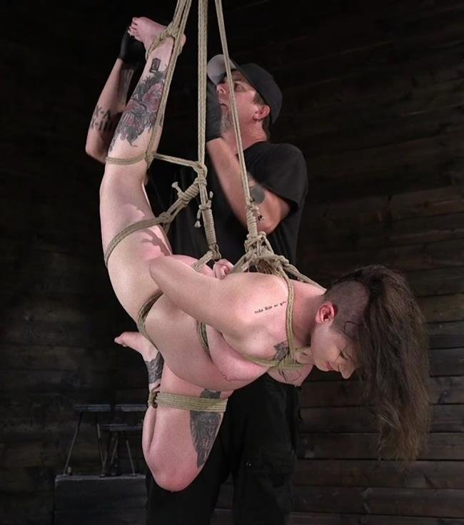 Paige Pierce - Pain Slut Paige Pierce Submits to Rope Bondage and Corporal Punishment [HD] - Kink, HogTied.com
