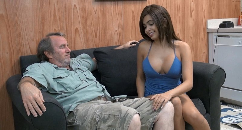 Aaliyah Hadid - Mommie Found My Selfies (Taboo, Father, Daughter) [FullHD 1080p] - Clips4sale.com