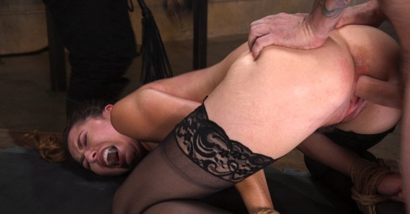 Melissa Moore - Training a Pain Slut: Busty Melissa Moore's First Submission (Rough Sex, BDSM) [SD] - TheTrainingOfO.com