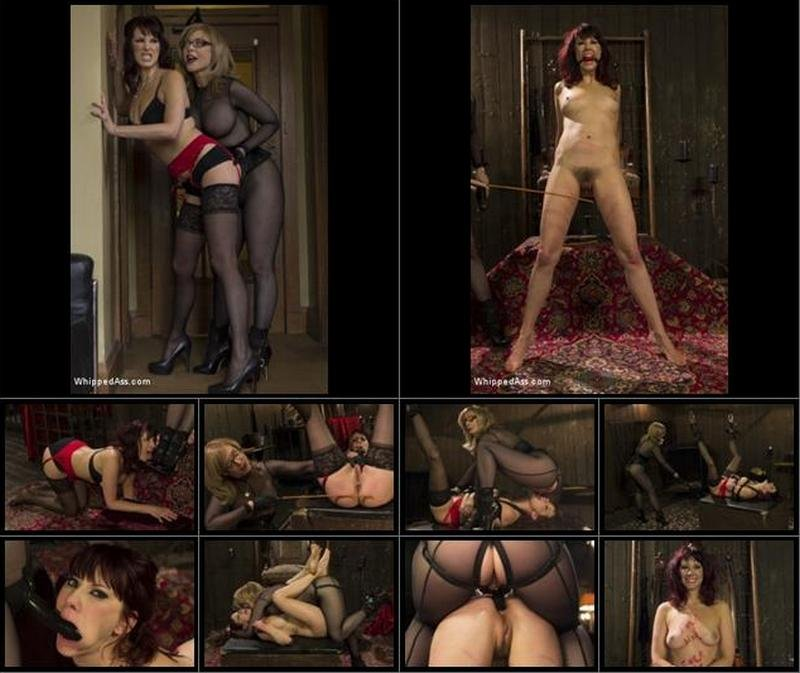 Maitresse Madeline, Nina Hartley - Retribution: Maitresse Madeline taken down, dominated and anally fucked by Nina Hartley! (Lesbo, Strapon) [SD] - WhippedAss.com