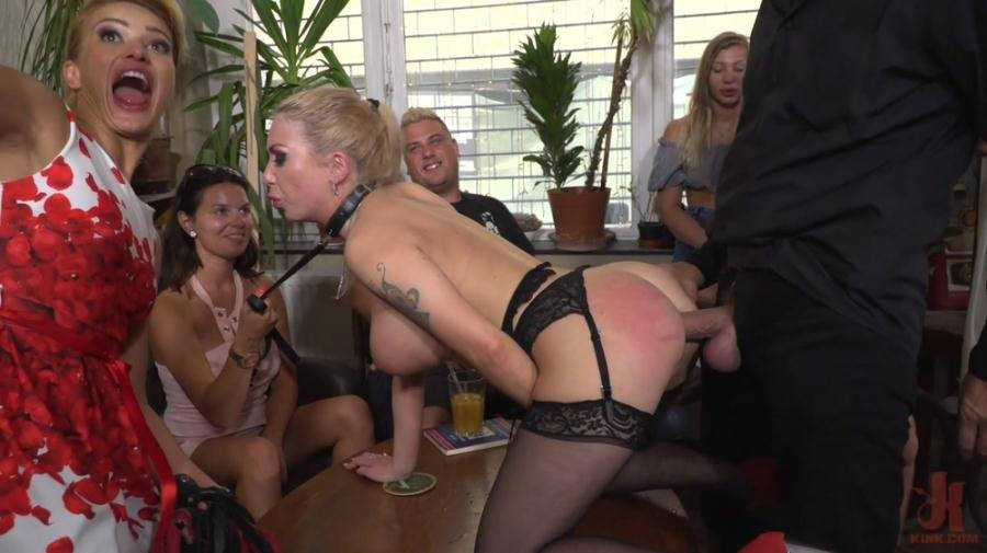 Cherry Kiss, Isabella Clark, Steve Holmes - Humiliated Whore Isabella Clark Disgraced and Anally Fucked in Public (BDSM, Submission, Anal) [HD 720p] - KINK